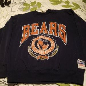 VINTAGE Nutmeg chicago bears nfl sweatshirt